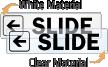 Slide Left Door Label