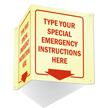 GlowSmart™ Custom Projecting Emergency Sign