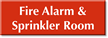 Fire Alarm & Sprinkler Room Select-a-Color Engraved Sign