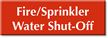 Fire/Sprinkler Water Shut-Off Select-a-Color Engraved Sign