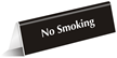 2in. x 6in. Engraved Table Top Tent Sign