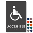 Accessible Restroom TactileTouch Braille Sign