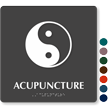 Acupuncture TactileTouch Braille Hospital Sign