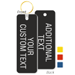 Add Your Custom Text Double Sided Keychain