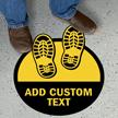 Add Your Text Custom SlipSafe Floor Sign