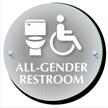 All Gender Restroom ClearBoss Sign