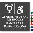 Updated ISA And Gender Neutral Restroom Sign