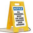 FloorBoss XL™ Floor Standing Sign