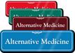 Alternative Medicine Showcase Hospital Sign
