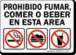 Prohibido Fumar Sign