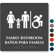 12in. x 12in. Bilingual TactileTouch™ Braille Sign
