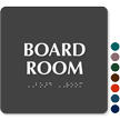 Board Room Braille TactileTouch™ Sign