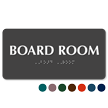 Board Room TactileTouch™ Sign with Braille