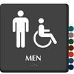 Restroom Accessible Men Sign
