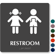 Restroom Boys Girls Pictogram Sign