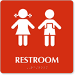 Restroom Boys Girls Sign