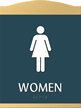 Women Graphic Braille Sign