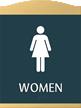 Esquire Restroom Sign