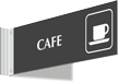 Cafe Corridor Projecting Sign