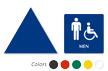 Accessible Men Pictogram Sign