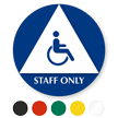Staff Only Unisex Sign