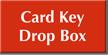Card Key Drop Box Engraved Sign