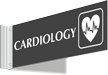 Cardiology Corridor Projecting Sign