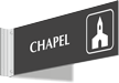 Chapel Corridor Projecting Sign
