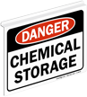 Danger Chemical Storage