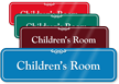 Children's Room Showcase Hospital Sign