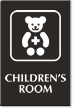Children's Room Engraved Sign
