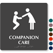Companion Care TactileTouch Braille Sign