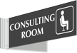 Consulting Room Corridor Projecting Sign
