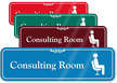 Consulting Room Hospital Showcase Sign
