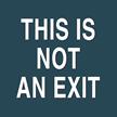 Contour/Esquire Exit Sign, 5.5