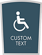 Apex Custom Regulatory Signs, 11.125