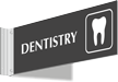 Dentistry Corridor Projecting Sign