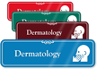 Dermatology Hospital Showcase Sign