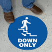Up Only Down Only SlipSafe Floor Sign