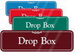 Drop Box Sign