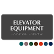 Elevator Equipment Tactile Touch Braille Sign