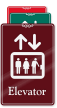 Elevator (with elevator symbol)