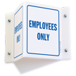 Projecting Security Sign, 6in. x 5in.