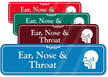 Ear, Nose & Throat ENT Showcase Hospital Sign