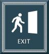 Exit Door Sign