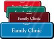 Family Clinic Showcase Hospital Sign