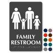 Family Restroom TactileTouch Braille Sign