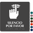 Spanish TactileTouch™ Braille Sign, 9in. x 9in.