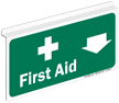 First Aid Drop Ceiling Sign
