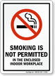 Smoking Is Not Permitted Sign